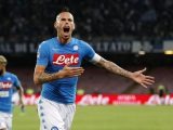 NAPLES, ITALY - SEPTEMBER 24:  Marek Hamsik of Napoli celebrates after scoring goal 2-0 during the Serie A match between SSC Napoli and AC ChievoVerona at Stadio San Paolo on September 24, 2016 in Naples, Italy.  (Photo by Francesco Pecoraro/Getty Images)