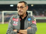 Napoli's Italian coach Maurizo Sarri attends the Italian Serie A football match between Napoli and Sassuolo Calcio at the San Paolo Stadium on November 28, 2016. / AFP / CARLO HERMANN        (Photo credit should read CARLO HERMANN/AFP/Getty Images)