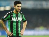 NAPLES, ITALY - NOVEMBER 28:  Matteo Politano of US Sassuolo in action during the Serie A match between SSC Napoli and US Sassuolo November 28, 2016 in Naples, Italy.  (Photo by Francesco Pecoraro/Getty Images)
